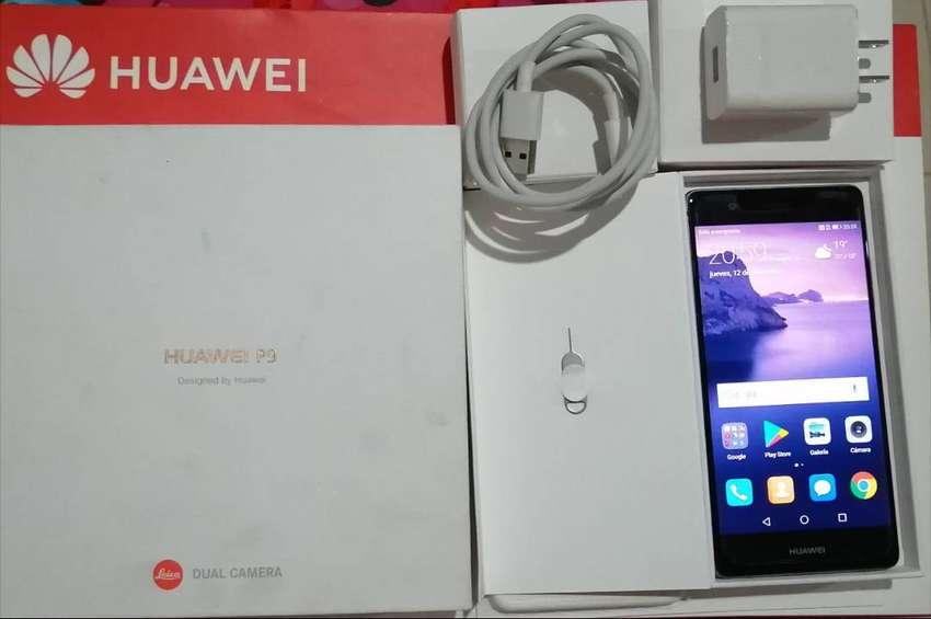 Huawei P9 Eva-L09 gris titanio 0