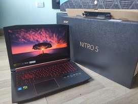 PROMOCIÓN - Portátil Acer Nitro 5 - Perfecto estado- Ideal para gamers o trabajo de alto rendimiento