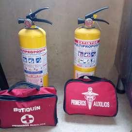 Kit de primeros auxilio