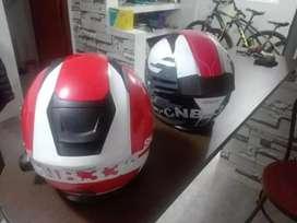 Vendo cascos SHAFT con intercomunicadores excelente estado !