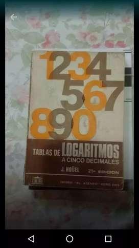 Matemática . Tabla logaritmo