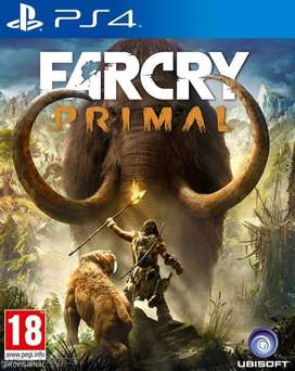 Far Cry Primal Playstation 4 Ps4, Físico