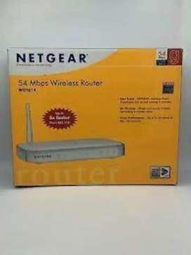 Router netgear wgr614 54mbps wireless nuevo en caja