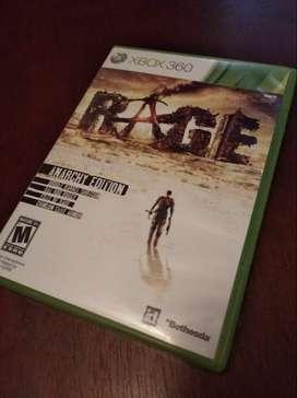 Juego RAGE Xbox 360/ONE