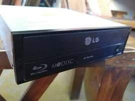 Regrabadora de discos BluRay LG