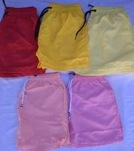 Shorts y remeras