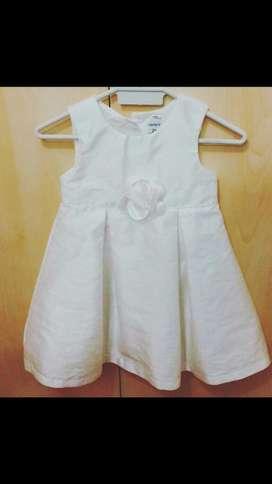 Vestido Bebé Carters Talla 2 Años