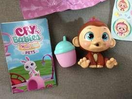 Mascotas Cry Babies Originales Nuevas