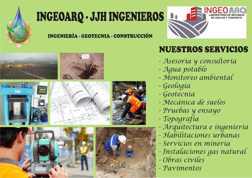 ingeniería, geotecnia, topografía, suelos, planos, consultoría