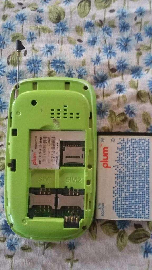 Celular Plum Stubby Ii P107 10$