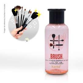 Shampoo Limpiador Líquido Brochas Esponjas Maquillaje 228547
