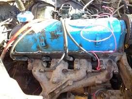 Motor y caja de taunus