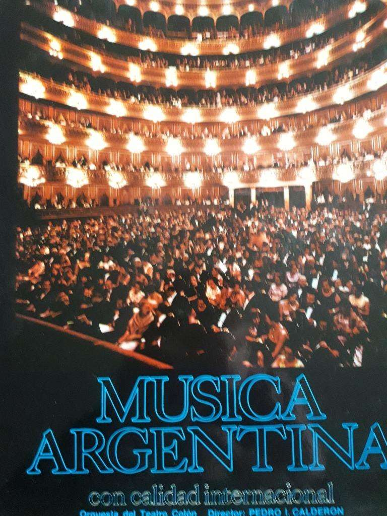 Orquesta Estable Teatro Colón Vinilo 0