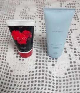 Promoción Aceite de masajes y Crema para el rostro