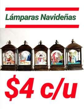 LÁMPARAS NAVIDEÑAS LUCES DE HADA