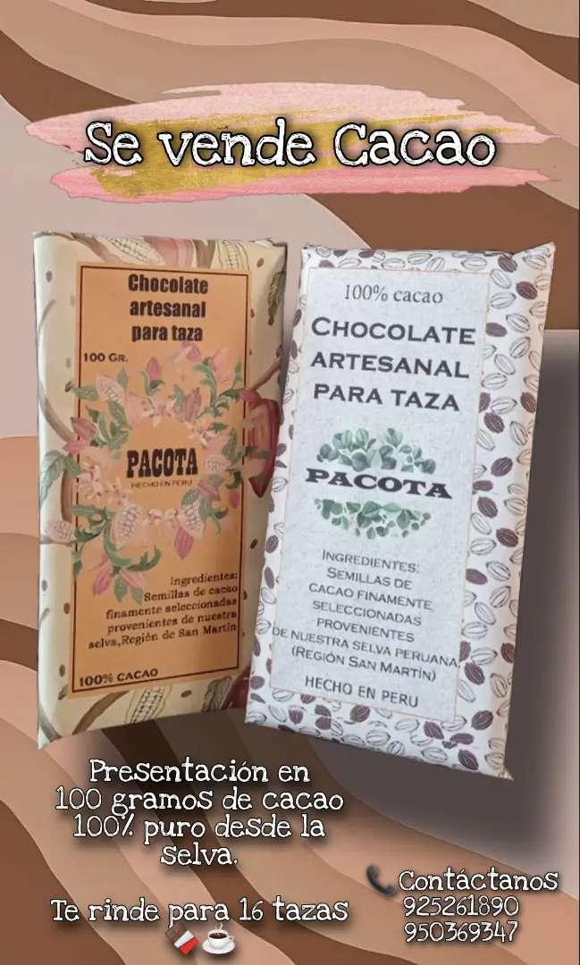 Vanta de cacao 100%. De la selva peruana 0