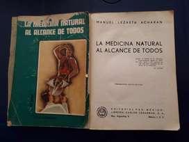 Libro MEDICINA NATURAL AL ALCANCE DE TODOS