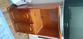 mueble de madera para tv o guardado