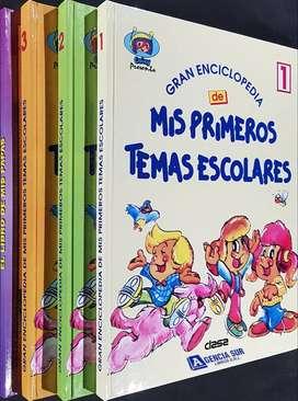 Gran Enciclopedia de Mis Primeros TEMAS ESCOLARES