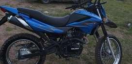 Moto Gilera Sahuel