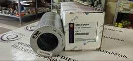 Cartucho de filtro hidráulico de transmisión para excavadora KOMATSU