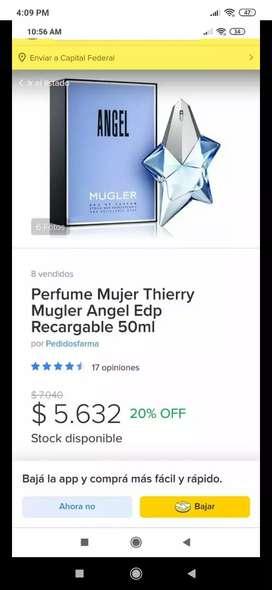 Perfume original ideal para regalo de navidad