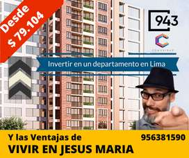 Departamentos en Jesus Maria - Lima