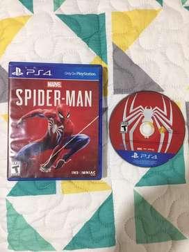 Juego Spiderman para ps4
