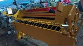 Dobladora de tool reforzada, con doble acero de 2.45 Mts capacidad 2 mm