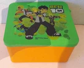 Art 186 Tupper de Ben 10 Cartoon Network Medidas 12x11x7 cm