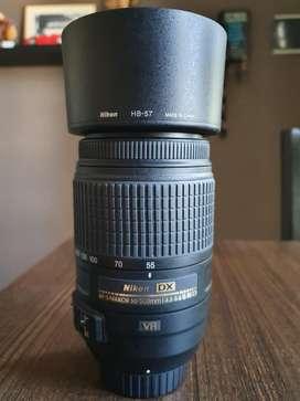 Lente Nikon 55300mm Vr