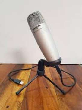 Microfono Condensador Samson Usb