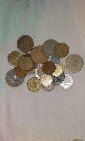 Vendo monedas del mundo