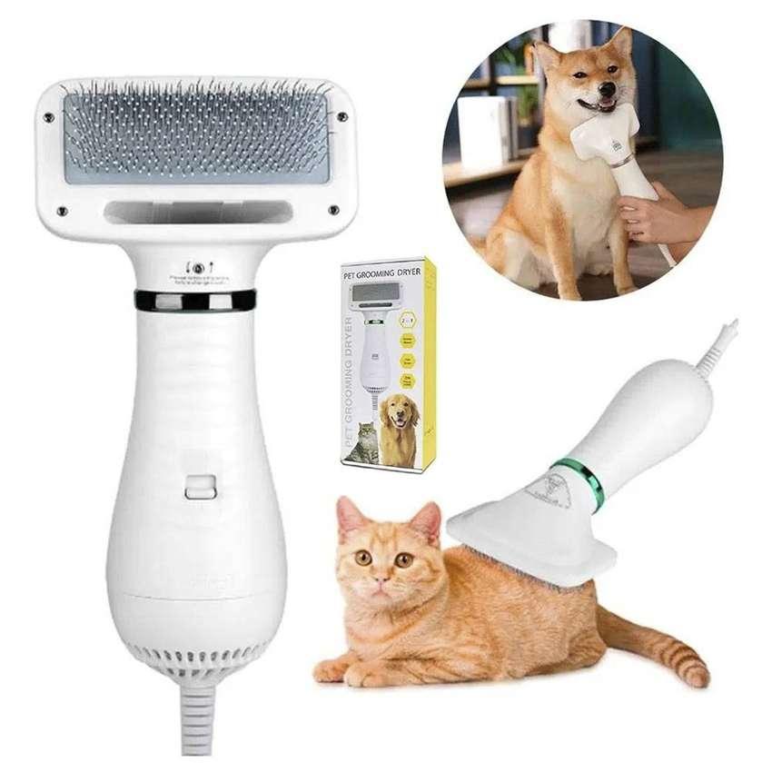Secador De Pelo Cepillo Para Mascotas Aseo 2 en 1 Portátil CWS-01