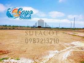 OFERTON, TERRENOS DE REMATE A 5.400 USD DE 180M2, EN LOTIZACION PRIVADA CAYO BEACH, SOLO EFECTIVO, S1