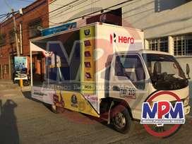 Alquiler vehículos publicitarios promovemos su negocio