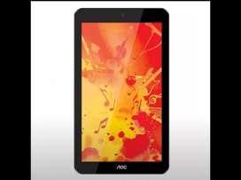 "Liquido Tablet aoc 7"" - Sd - Aux - 2 cam"