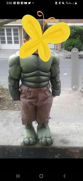 Disfraz Hulk niño (Americano)