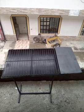 Disponible asador casero