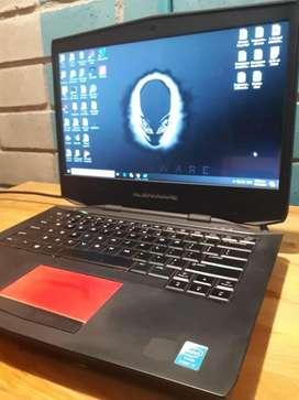 Alienware 14 Nvidia Geforce GT 750 Intel core i7 -  Disco solido 500GB