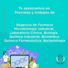 Parciales de Fisicoquímica, Metodología de la investigación, Análisis de datos, Biofísica, Ingles, Microbiología