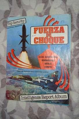 Álbum De Figuritas Fuerza De Choque Del Año 1984