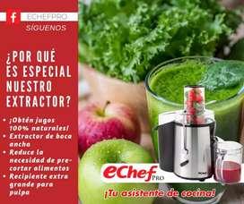 Extractor de frutas y verduras
