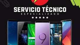 Servicio técnico especializado en software de celulares y smartphones