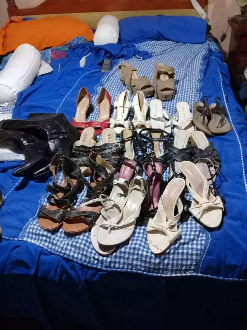 Vendo14paresde zapatos nro37y 38tdos juntos 0