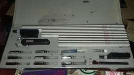 Kit de dibujo técnico, marca Rotring importado (completo)