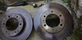 Vendo  2 repuestos de freno disco para un carro