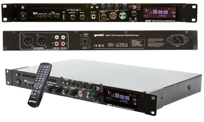 Gemini Cdmp-1400 Multiplayer - Cd/mp3/usb/pitch/buenisimo*** 0