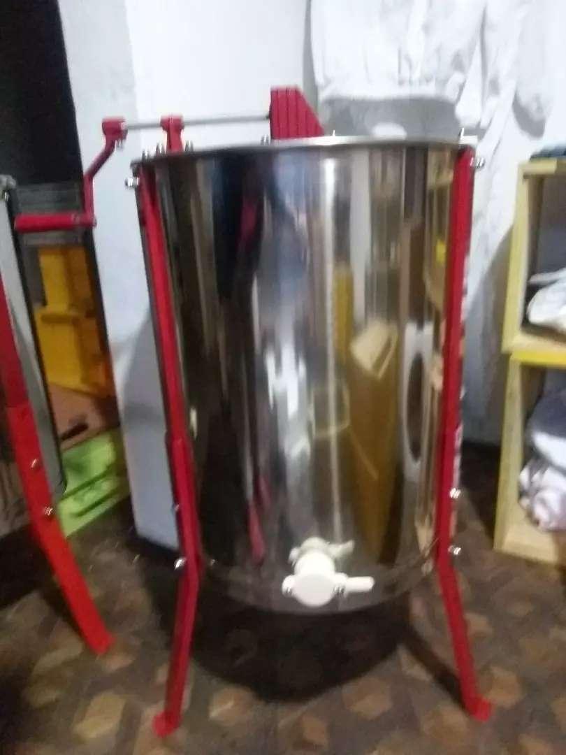 Extractor centrifuga de miel, de 4 Marcos abejas apicultura 0