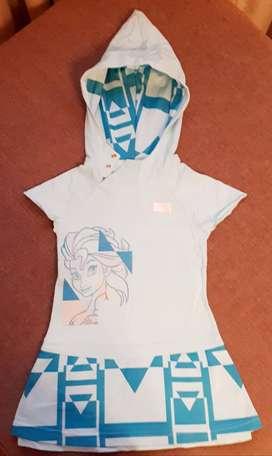Vestido Adidas original Frozen!!!